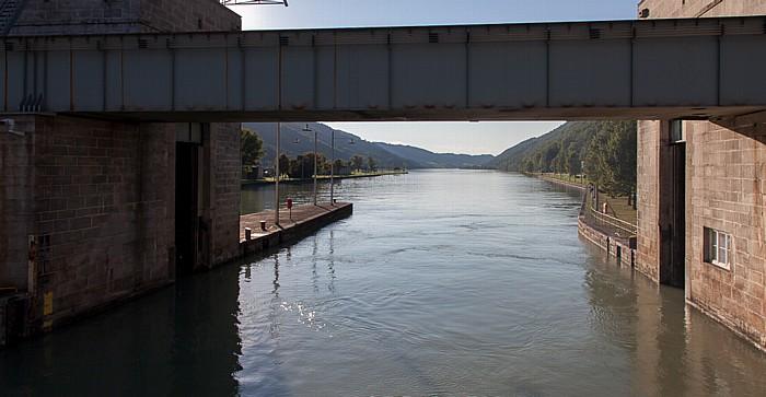 Engelhartszell an der Donau Donau, Schleuse Jochenstein