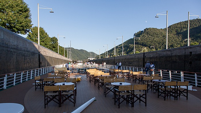 Engelhartszell an der Donau Schleuse Jochenstein
