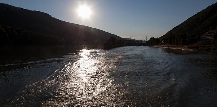 Engelhartszell an der Donau Donau, Kraftwerk und Schleuse Jochenstein