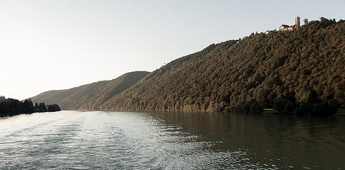 Waldkirchen am Wesen Donau, Burg Marsbach (castrum morspah)
