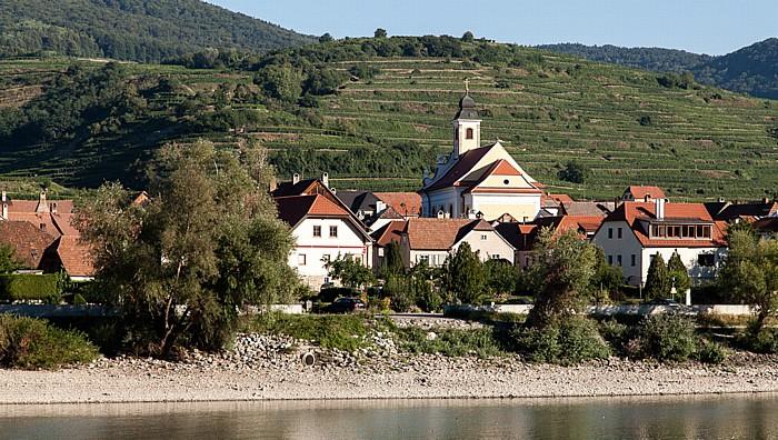 Weißenkirchen in der Wachau Wachau: Kirche Maria Himmelfahrt (Wösendorf in der Wachau)