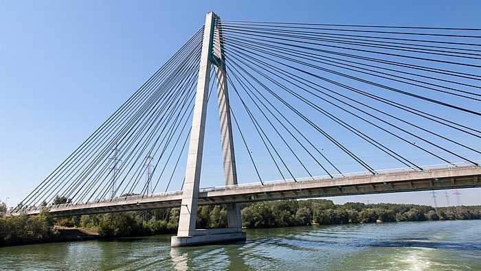 Tulln an der Donau Donau, Rosenbrücke