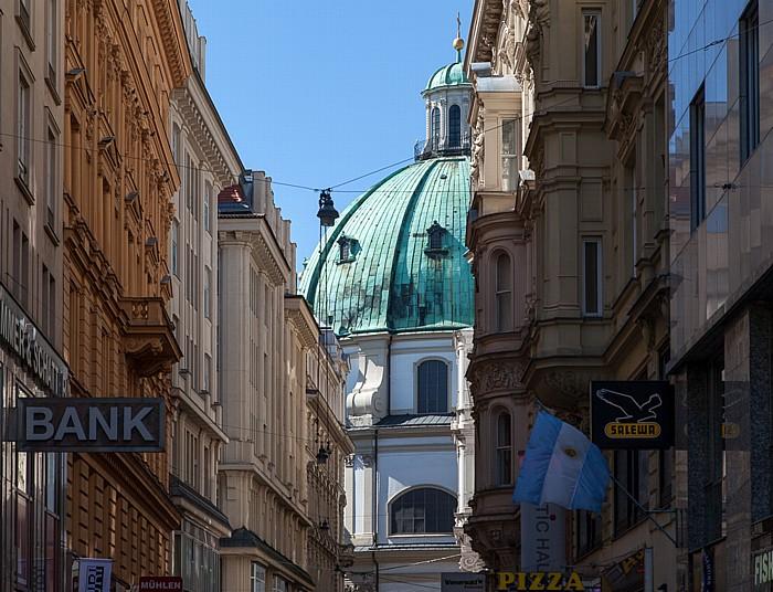 Wien Innere Stadt: Goldschmiedgasse, Peterskirche