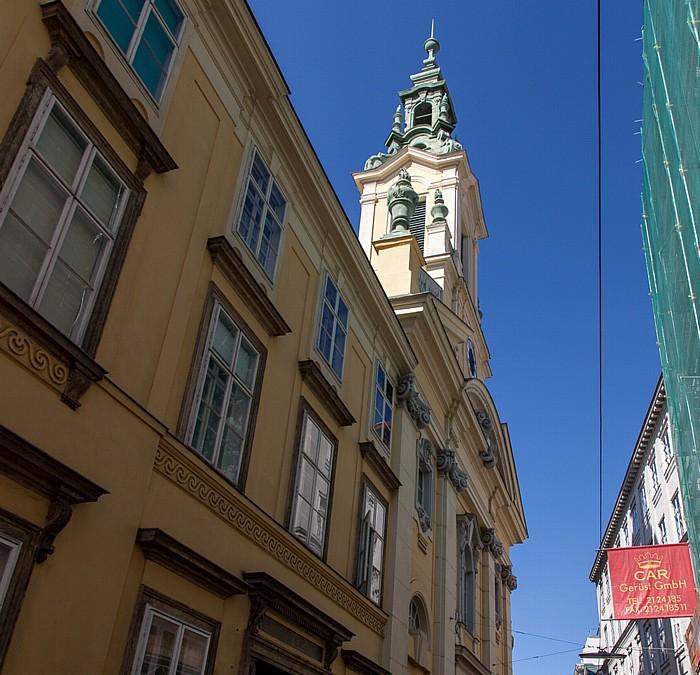 Wien Innere Stadt: Dorotheergasse - Reformierte Stadtkirche