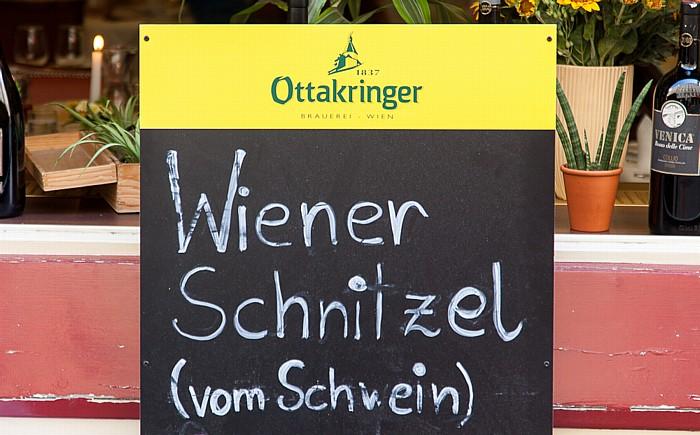 Innere Stadt: Dorotheergasse - Wiener Schnitzel (vom Schwein) Wien