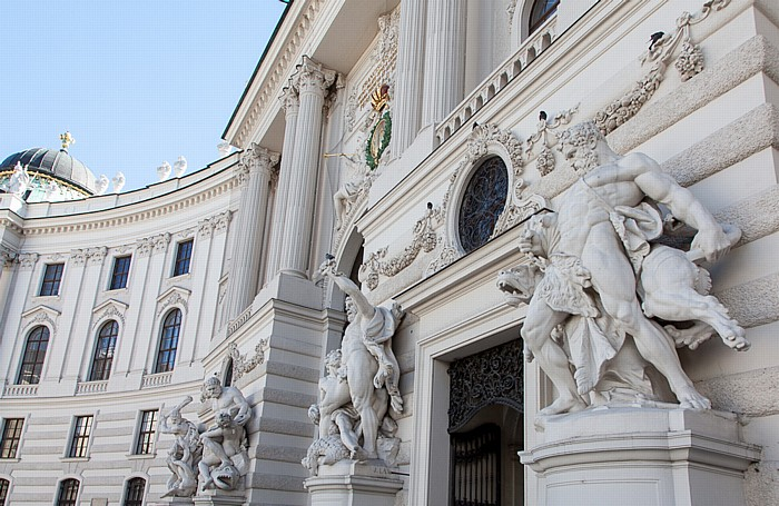 Wien Innere Stadt: Hofburg - Michaelertrakt