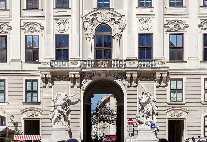Wien Innere Stadt: Hofburg - Reichskanzleitrakt