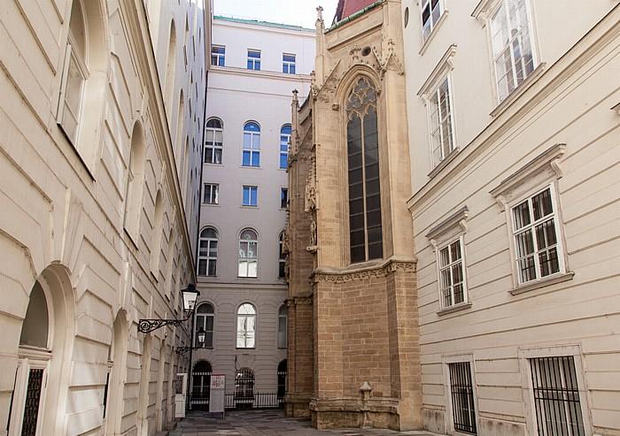 Wien Innere Stadt: Hofburg - Schweizerhof, Burgkapelle