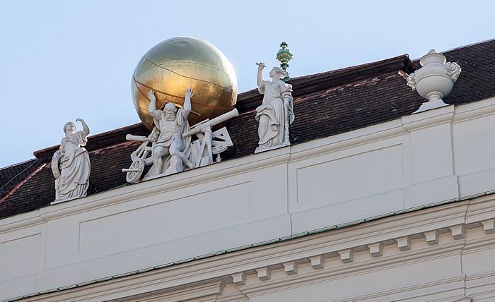 Wien Innere Stadt: Hofburg - Hofbibliothek