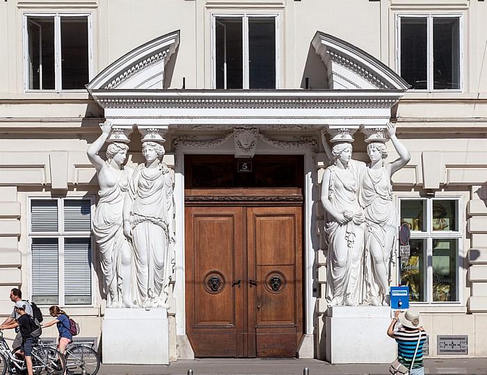 Wien Innere Stadt: Josefsplatz - Palais Pallavicini