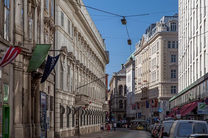 Wien Innere Stadt: Herrengasse