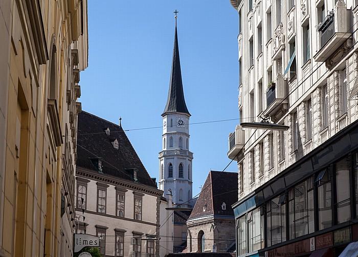 Wien Innere Stadt: Stallburggasse, Michaelerkirche
