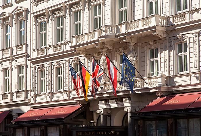 Wien Innere Stadt: Hotel Sacher