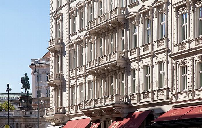 Wien Innere Stadt: Hotel Sacher Hofburg Palais Erzherzog Albrecht