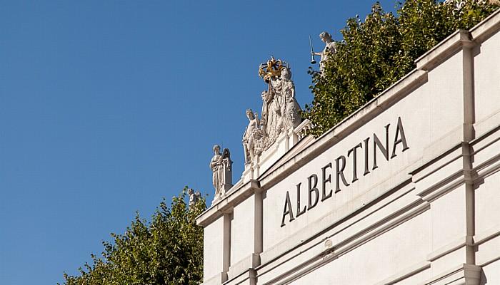 Wien Innere Stadt: Hofburg - Palais Erzherzog Albrecht (Albertina)