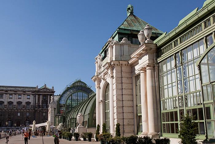 Wien Innere Stadt: Hofburg - Burggarten, Palmenhaus