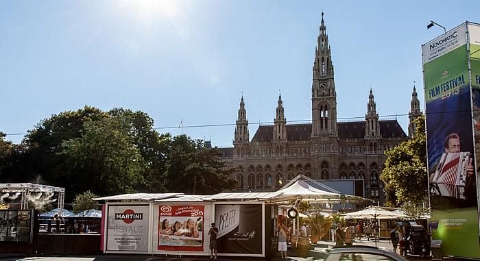 Innere Stadt: Rathausplatz, Wiener Rathaus