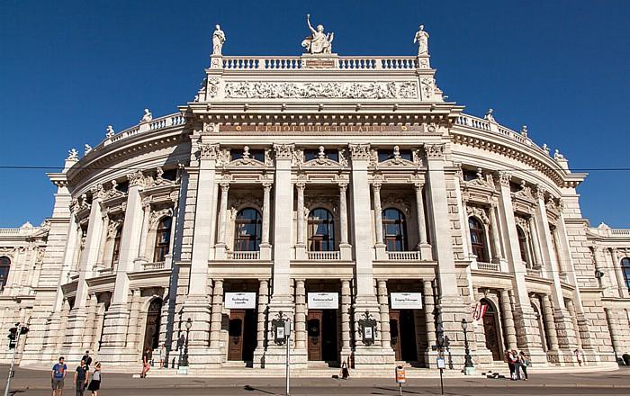 Innere Stadt: Wiener Ringstraße (Universitätsring) - Burgtheater Wien 2013