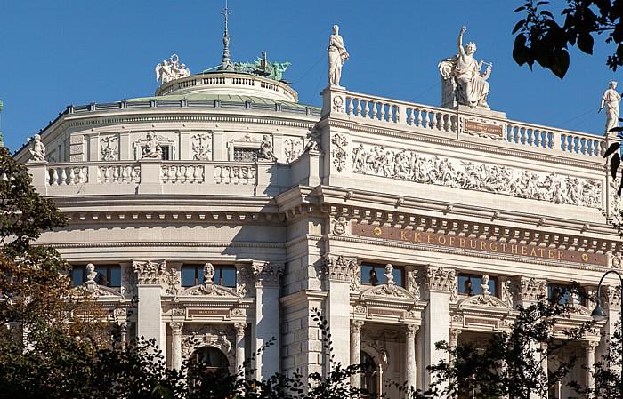 Innere Stadt: Wiener Ringstraße (Universitätsring) - Burgtheater