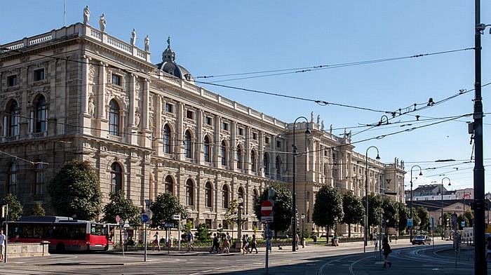 Wien Innere Stadt: Bellariastraße, Naturhistorisches Museum