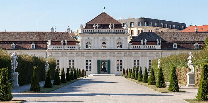 Schlossanlage Belvedere: Belvederegarten, Unteres Belvedere Wien