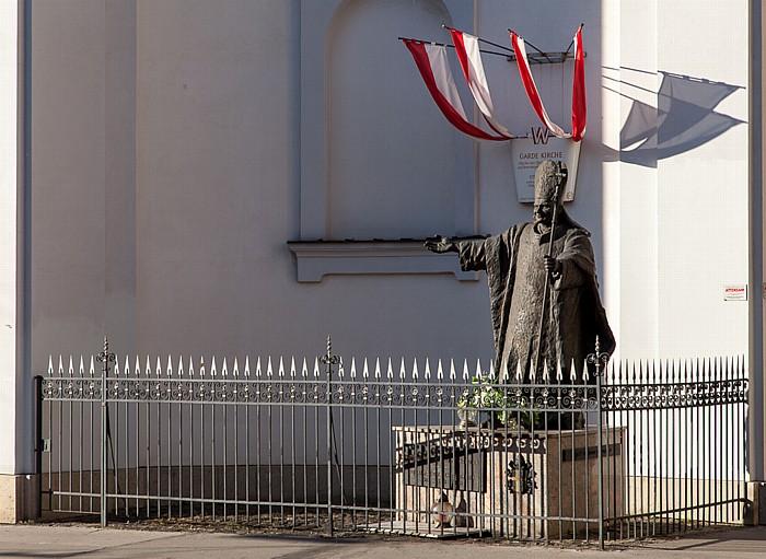 Landstraße (III. Bezirk): Rennweg - Gardekirche (Kirche der Resurrektionisten zu Ehren des gekreuzigten Heilands) Wien