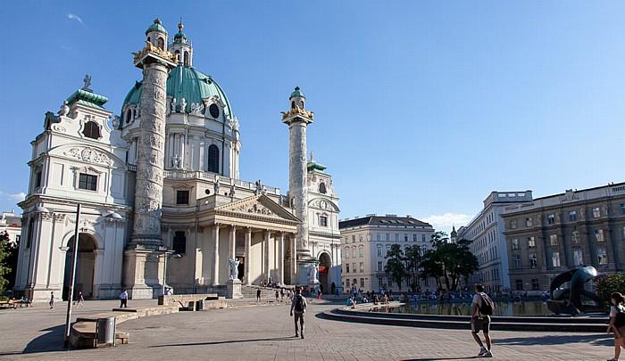 Wien Wieden (IV. Bezirk): Karlskirche