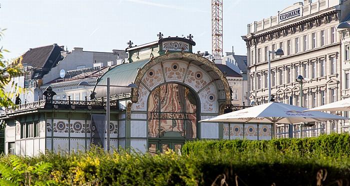 Wien Innere Stadt (I. Bezirk) / Wieden (IV. Bezirk): Karlsplatz - Otto-Wagner-Pavillon
