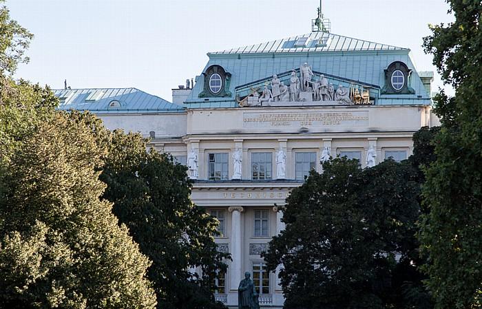 Wieden (IV. Bezirk): Karlsplatz - Technische Universität Wien (Hauptgebäude)