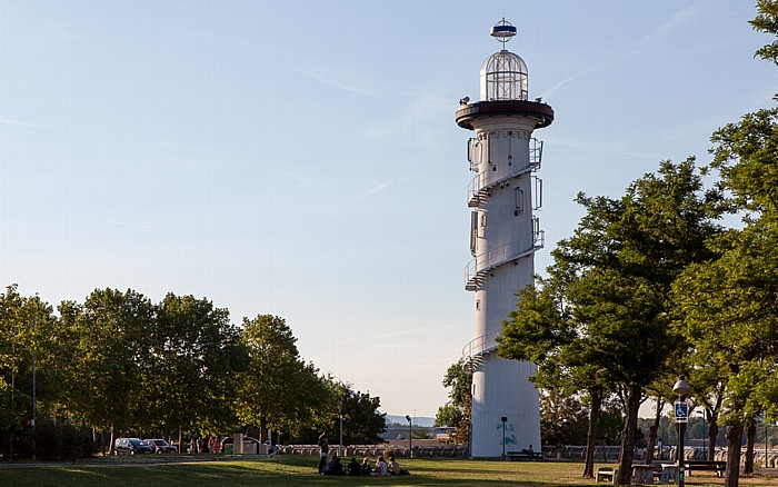 Wien Donauinsel: Leuchtturm