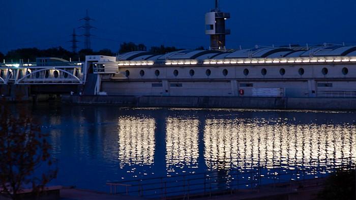 Wien Donau, Kraftwerk Freudenau