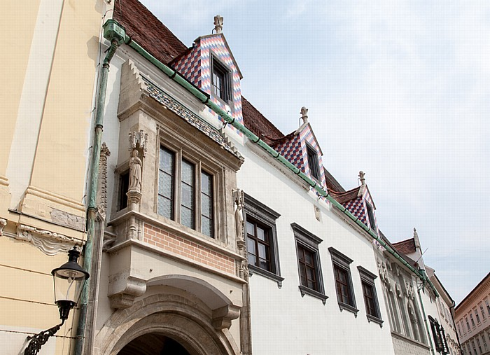 Bratislava Altstadt (Staré Mesto): Hauptplatz (Hlavné námestie) - Altes Rathaus (Stará radnica)
