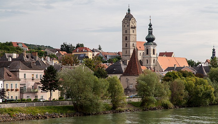 Krems an der Donau Wachau: Stein - Frauenbergkirche Mariae Himmelfahrt, Pfarrkirche Hl. Nikolaus