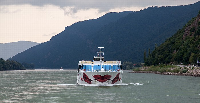 Aggsbach Wachau: Donau - a-rosa Schiff mia