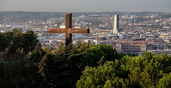 Marseille La Garde Tour CMA CGM