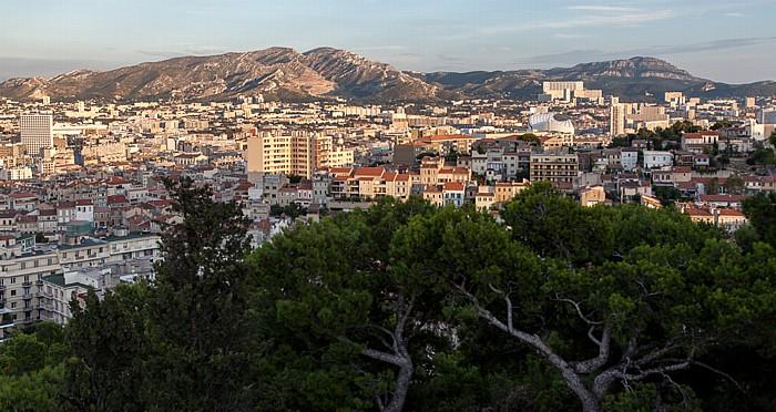 Marseille Blick von La Garde Stade Vélodrome
