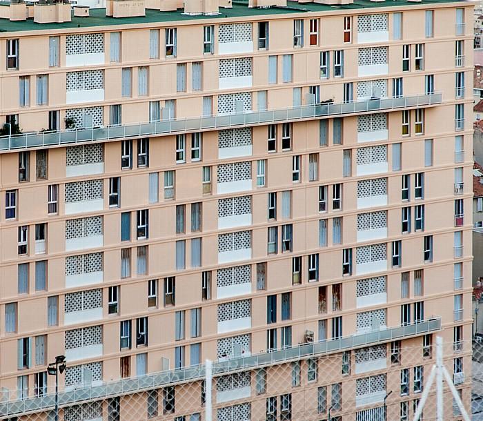 Marseille Blick von La Garde