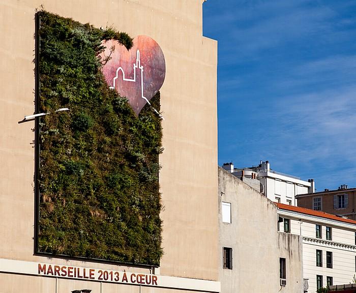 Quai de Rive Neuve: Marseille 2013 à couer (Europäische Kulturhauptstadt 2013)
