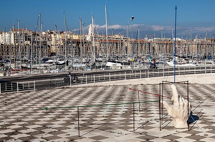 Marseille Alter Hafen (Vieux-Port)
