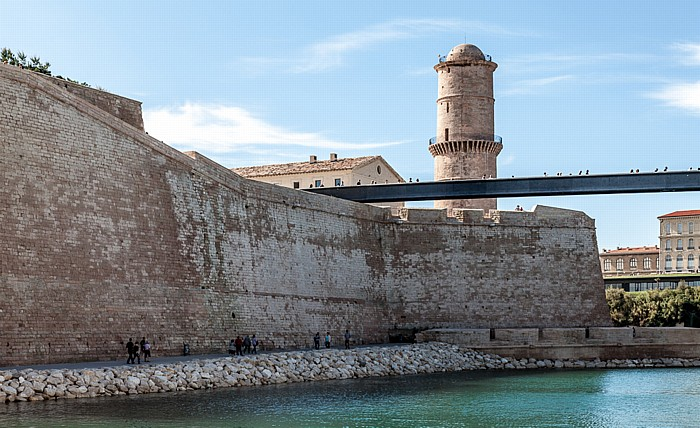 Marseille Fort Saint-Jean, Avant-port Joliette