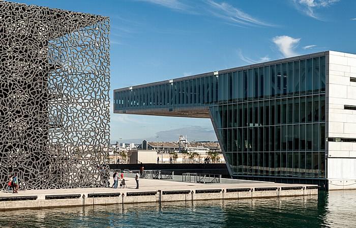Marseille MuCEM (Musée des Civilisations de l'Europe et de la Méditerranée), Villa Méditerranée