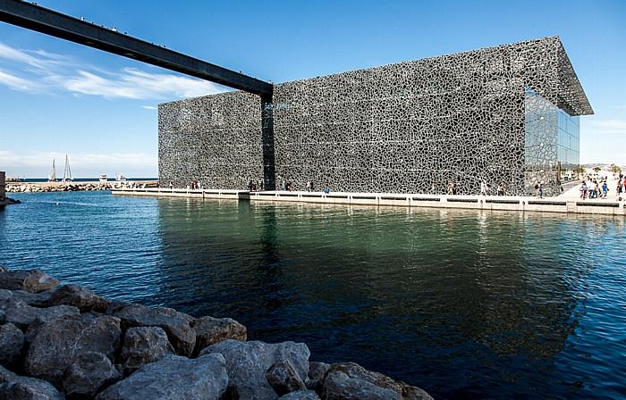 Marseille MuCEM (Musée des Civilisations de l'Europe et de la Méditerranée), Avant-port Joliette