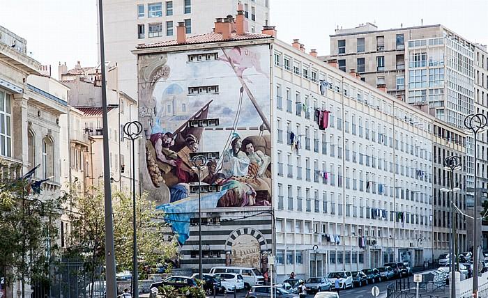 Marseille Esplanade de la Tourette
