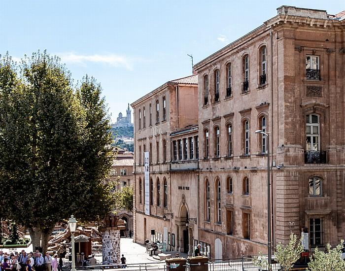 Marseille Place Villeneuve-Bargemon: Hôtel Daviel Basilique Notre-Dame-de-la-Garde
