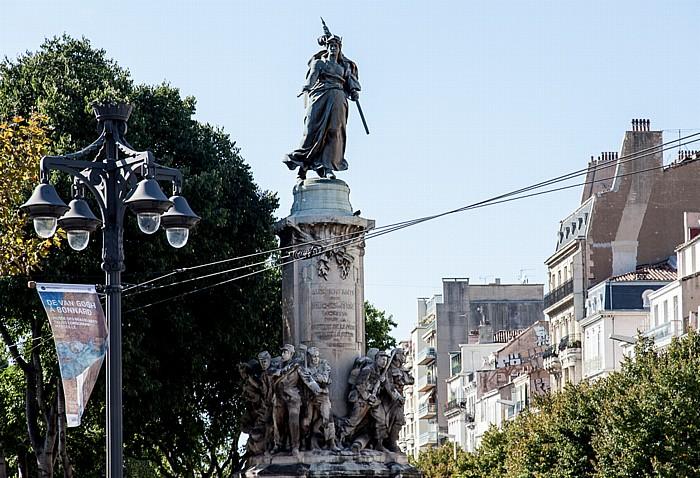 Marseille Place Léon Blum: Monument aux Mobiles Allée Léon Gambetta