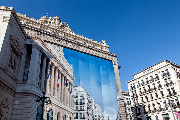 Marseille La Canebière: Palais de la Bourse