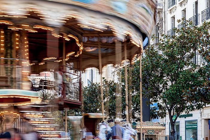 Marseille Place Charles de Gaulle (Place de la Bourse): Karussell