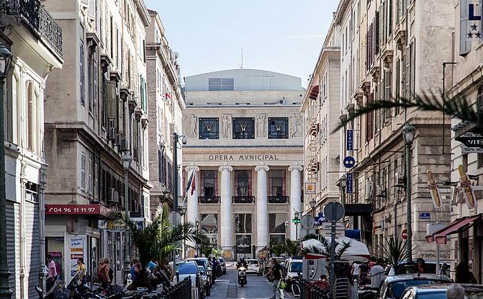 Rue Beauvau, Opéra municipal de Marseille