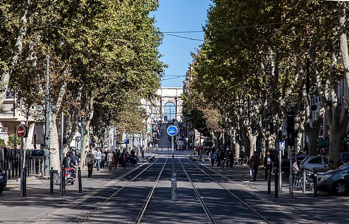 Marseille Cours Belsunce, Rue d'Aix, Porte d'Aix (Porte Royale)