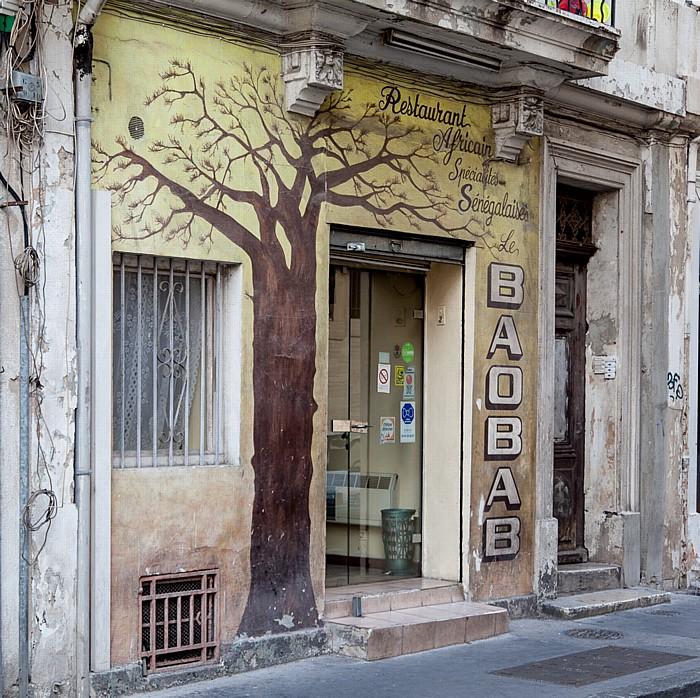 Marseille Rue Saint-Bazile: Restaurant Le Baobab